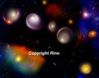 Danse des galaxies  (Cards)