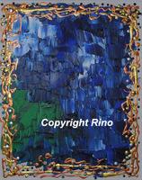 Bleu stoique (Giclee Repro)