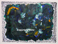 Blue spring (Giclee Repro)
